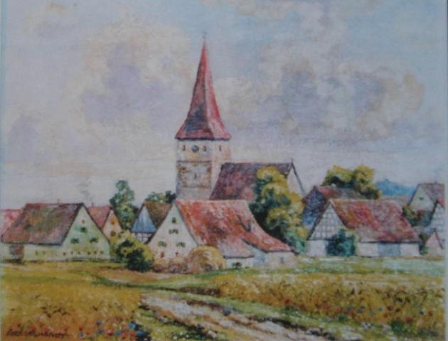 Gemälde von E. Engelhardt