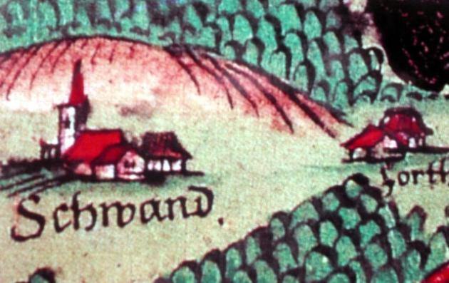 Die Düne auf einem alten Bild