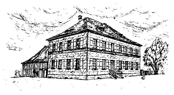 Zeichnung des Architekten